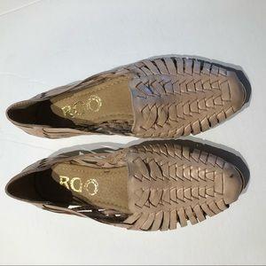 Shoes - Mexicano huarache size 7 leather Tan NWOB